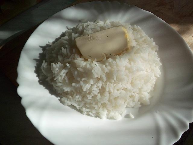 Рис отварной.