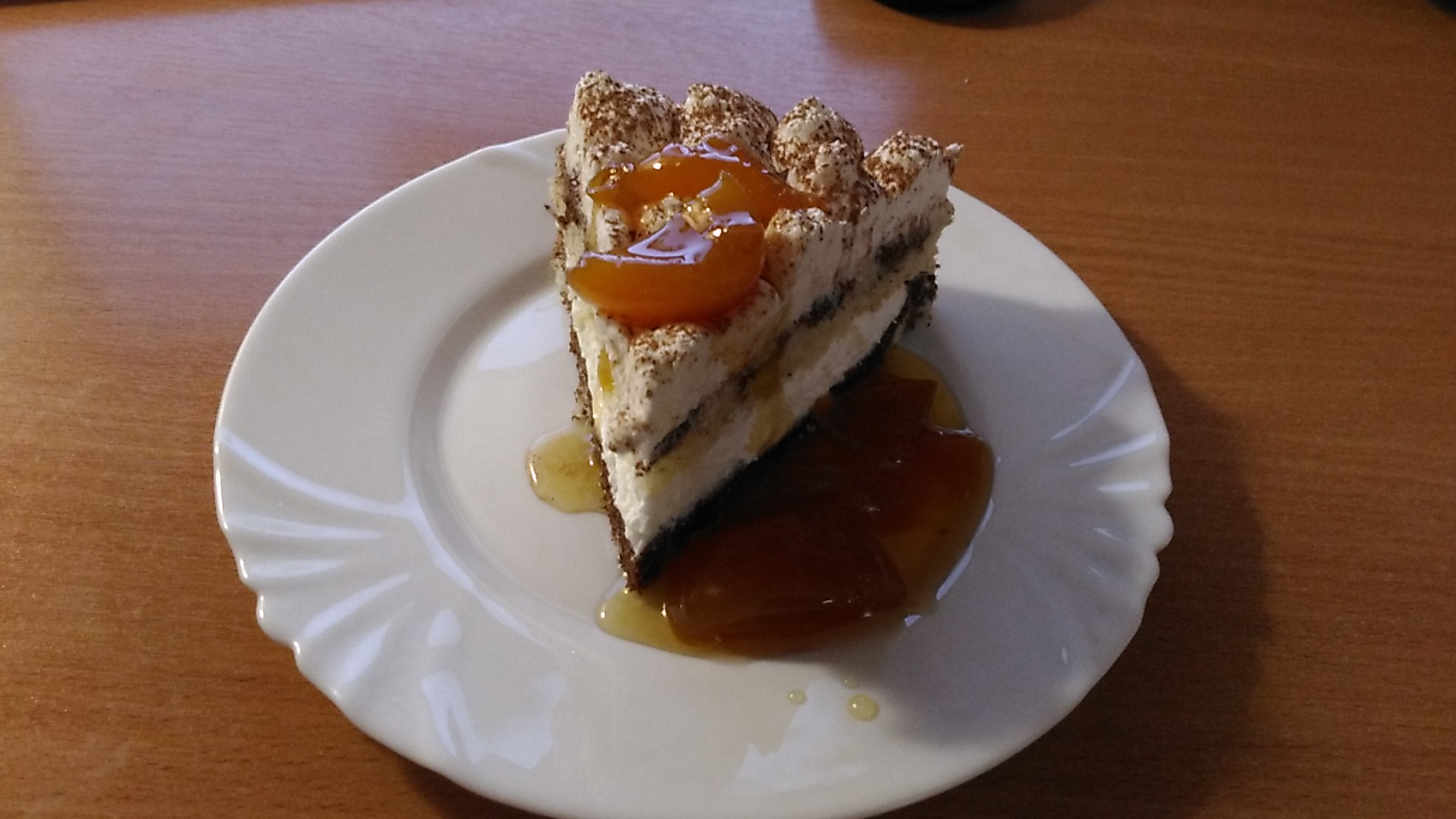 Торт Мраморный со сливками