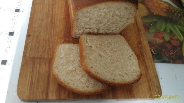 Хлеб французский на молоке, формовой.