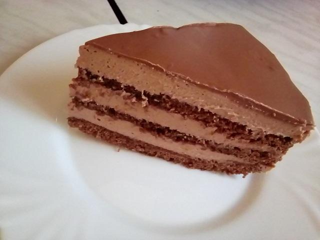 Шоколадный тортик.