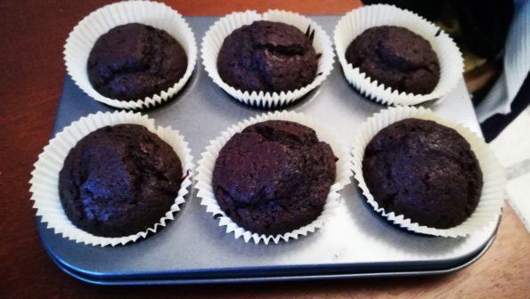 Кекс шоколадный Печем дома.