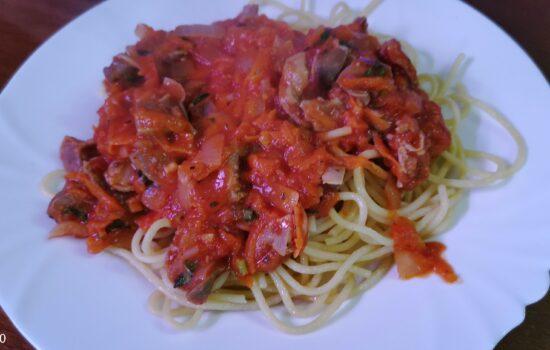 Желудки в томатном соусе. 2