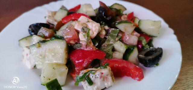 Мой греческий салат.